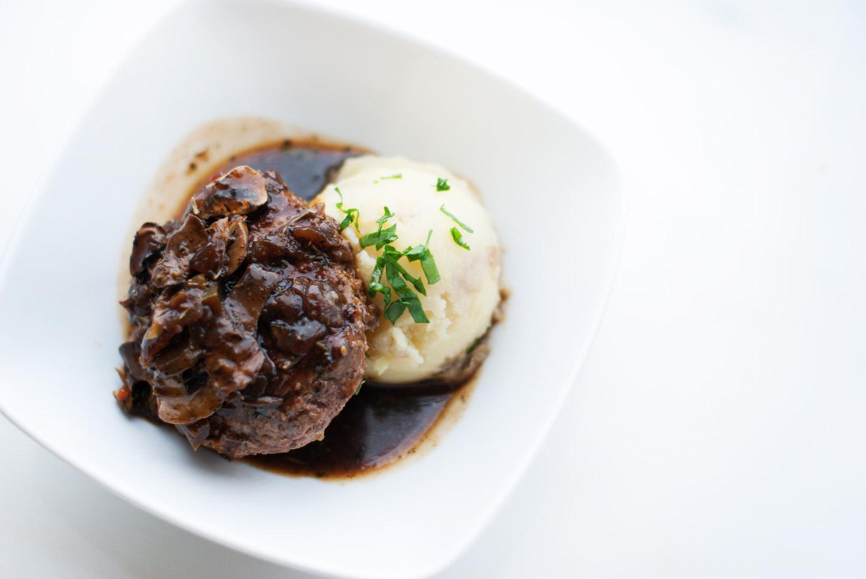 Salisbury Steak (Low Carb)