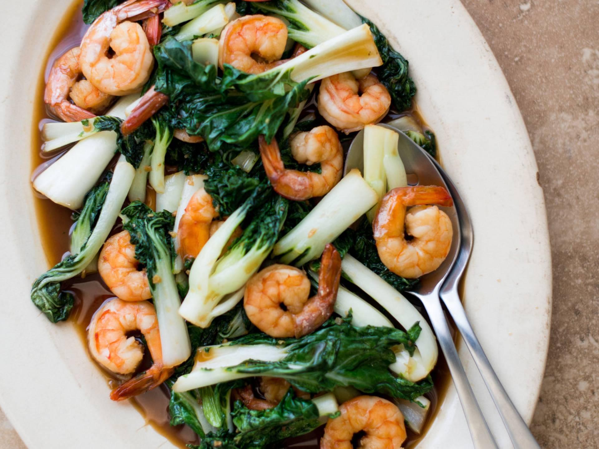 Cantonese Shrimp Low Carb