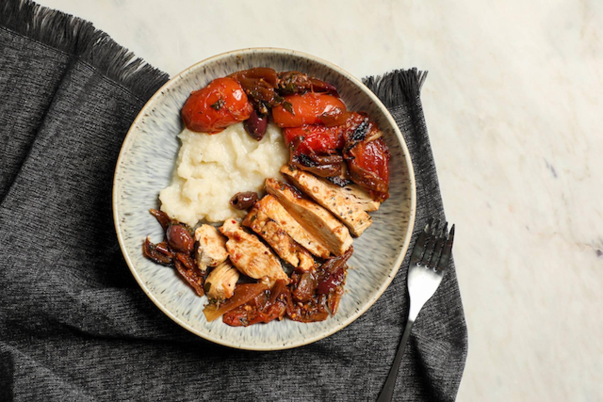 Braised Mediterranean Chicken