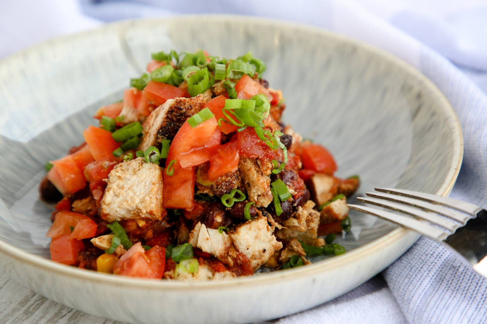 Southwest Protein Bowl (Low Carb)