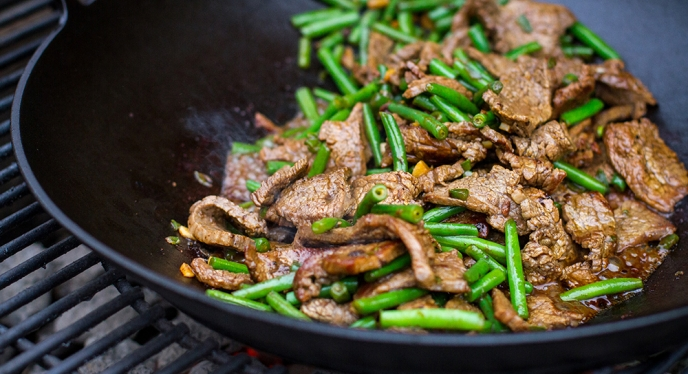 Flank With Green Beans (Low Carb)
